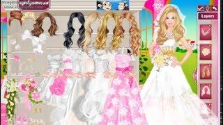 Barbie Wedding 💖🎂👫Dress Up 💑💐Game 💎💕 БАРБИ Свадьба Одень Барби Невесту💍 Игра 👗👡💕💖