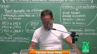 """Cândido Soler Peres - Tema """"Esta é a reencarnação mais importante de todos os tempos"""" -16/09/2015"""