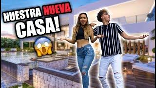 EL HOUSE TOUR DE NUESTRA NUEVA MANSION CON MI NOVIO!