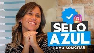 COMO SOLICITAR O SELO AZUL NO INSTAGRAM (FÁCIL) | Paula Tebett