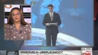 Ancla de Globovisión Reimy Chávez renuncia al aire: En CNN le preguntan a directora de Globovisión