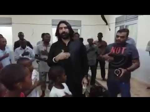 Ameer Hasan Aamir in Africa | Muharram 2017 Mera bachcha mere Maula ka azadaar bane..