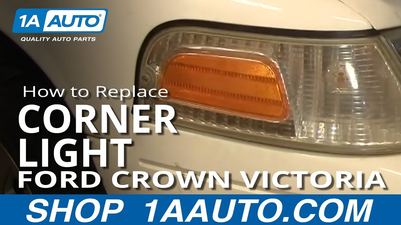 How To Install Replace Side Marker Light Replacement Ford