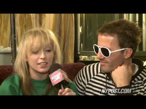 PopTracks Hangs With The Ting Tings - New York Post