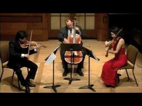 Mozart Divertimento in Eb K.563- Nikki Chooi-Marina Thibeault-Peter Wiley -Allegro