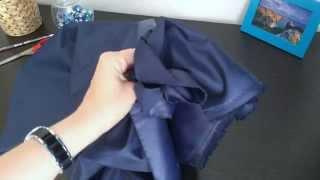 Ткань Оксфорд 200D PU 1000, темно-синий