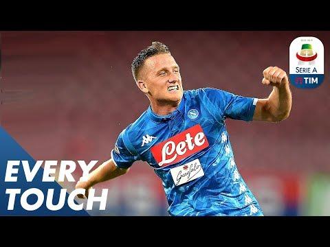 Piotr Zieliński V Milan | Every Touch | Serie A