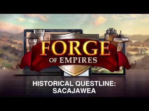 Forge of Empires - Sacajawea Historical Questline