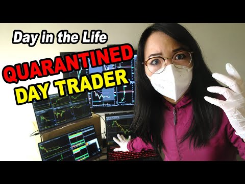 A Day in the Life of a Quarantined Day Trader in Taiwan 台灣檢疫旅館美股交易