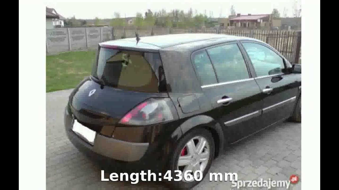 2003 renault megane ii coupe cabriolet 1 6 automatic specification youtube. Black Bedroom Furniture Sets. Home Design Ideas