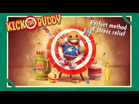 🤣🤡Kick the Buddy-PERFECT METHOD OF STRESS RELIEF!-By Chill Fleet-IOS