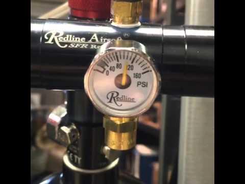 Redline SFR Regulator testing on Daytona HK416