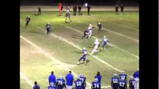 Haneef Hill WR Pacific Football highlight 2010