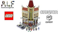 Lego Creator 10232 Palace Cinema - Lego Speed Build Review