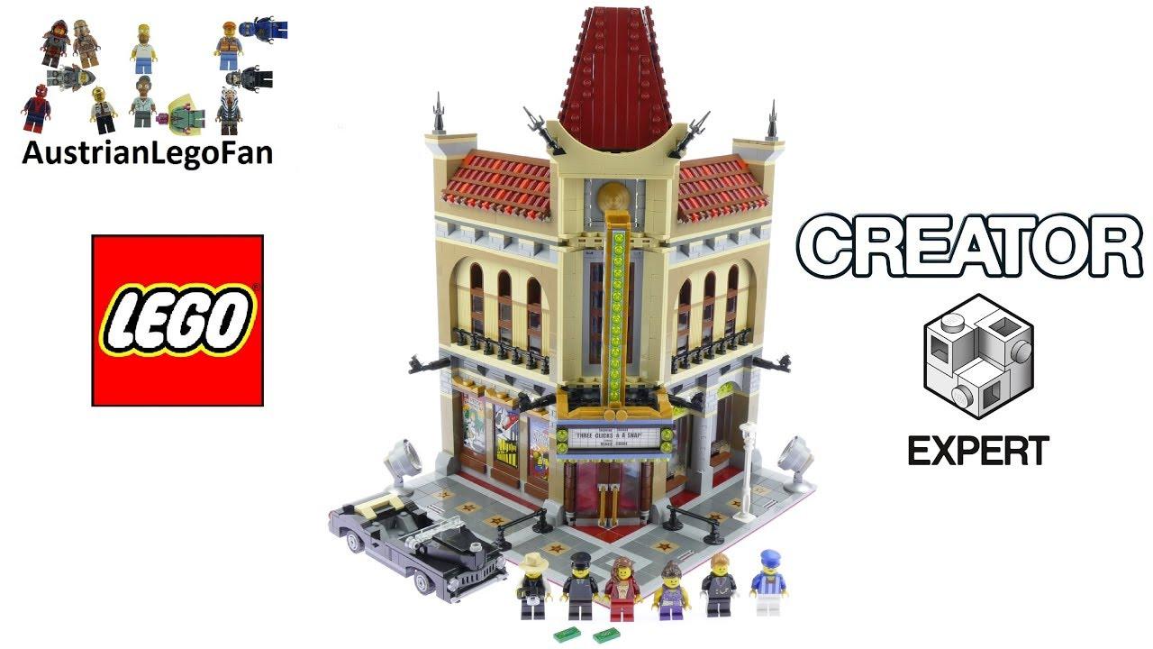 Lego Creator 10232 Palace Cinema Lego Speed Build Review Youtube