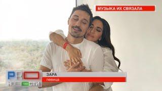 Зара и Дима Билан на съемках клипа (@PRO-новости, МУЗ-ТВ от 17.07.2019)