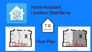 Homeassistant dashboard floorplan
