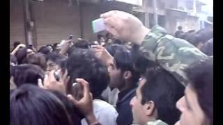 Sham Kay Bazar Main I Babu Khan Party I Chehlum Jaloos 2009 Sialkot