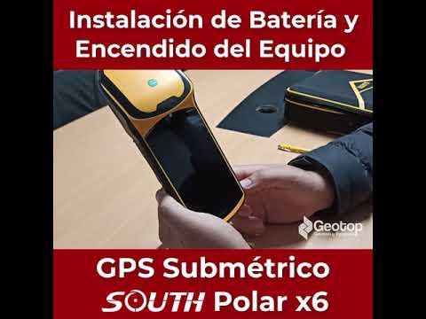 03 Instalación de Batería y Encendido  - GPS Submétrico South X6 Polar