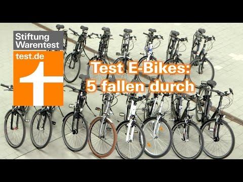 Test E-Bikes: 5 versagen im Härtetest