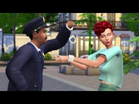 THE SIMS 4 Get to Work - Detective Gameplay