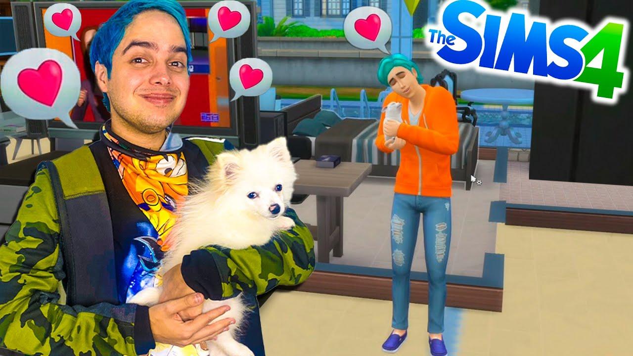 ¡ADOPTAMOS UNA MASCOTA! | Yolo Aventuras en Los Sims #3