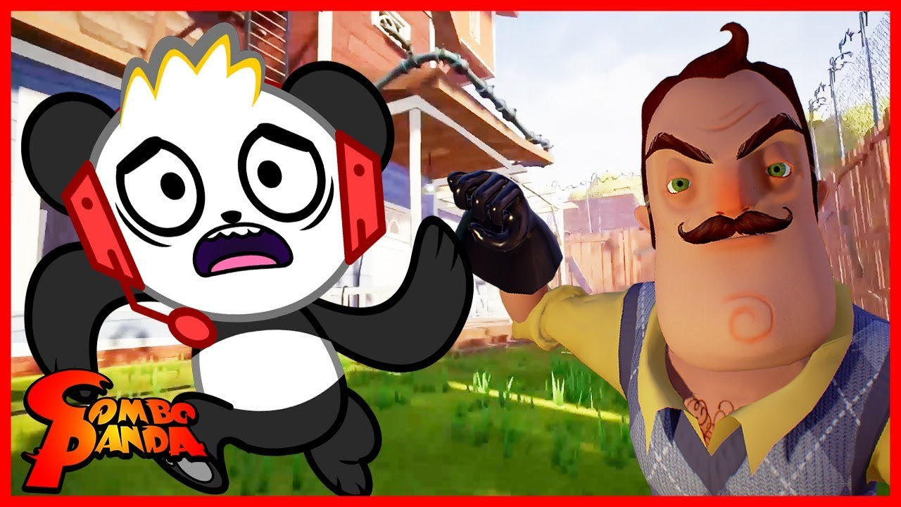Hello Neighbor I Beat The Game Let S Play With Combo Panda