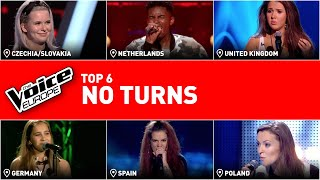 Coaches didn't turned for these amazing voices | TOP 6