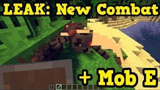 Minecraft LEAK New Combat & Boss Mob Explained (PE / Xbox)