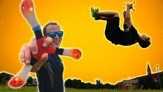 BOOMERANG TRICK SHOTS *WORLD RECORD CHALLENGE*