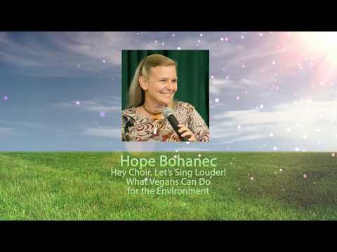 Hope Bohanec - Berkeley Vegan Earth Day 2017