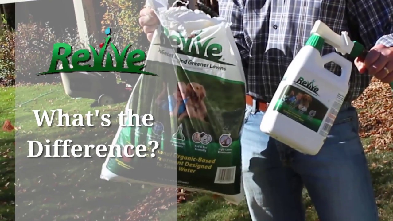 What S The Difference Between Revive Granules And Ready Spray Liquid