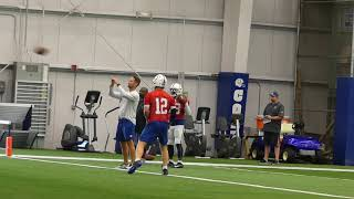 Andrew Luck 2017 Practice Debut | Kevin Bowen