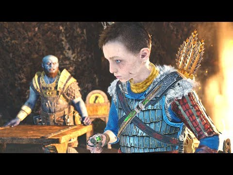 God Of War (2018) - Walkthrough Part 33 - Deus Ex Malachite & Exploring Landsuther Mines