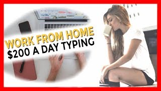 $200 per day just by typing with this HACK!