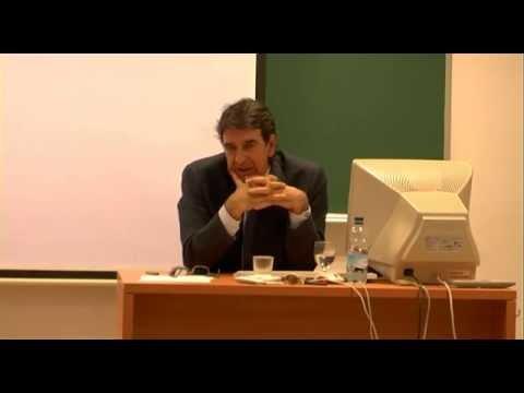 Conferencia de D. Francisco Serrano (1): Experiencias de gestión cultural.