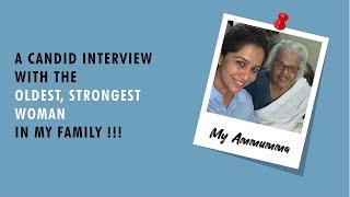 My Ammuma ❤ - A candid interview !!