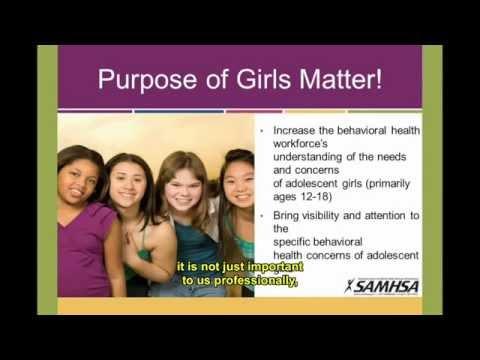 """Girl in the Mirror: A """"Girls Matter!"""" Webinar"""