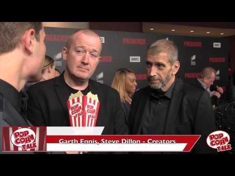 Garth Ennis, Steve Dillon Interview | Preacher Season 1 Premiere