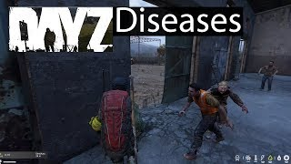 DayZ Xbox One Gameplay Diseases Guide