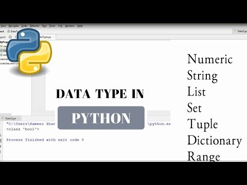#9 Python Tutorial for Beginners | Data Type In Python thumbnail