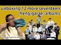 UNBOXING 12 MORE SEVENTEEN HENG:GARAE ALBUMS