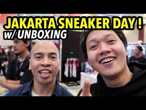 UNBOXING! dan keseruan JAKARTA SNEAKER DAY 2019!