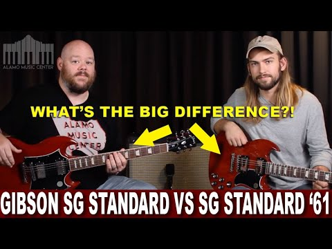 The Gibson SG Standard Vs The SG Standard '61   Whats The Difference And Which Should You Get?