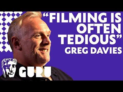 Greg Davies on writing & acting