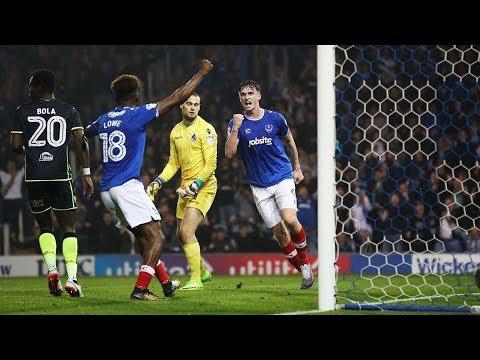 Highlights: Portsmouth 3-0 Bristol Rovers
