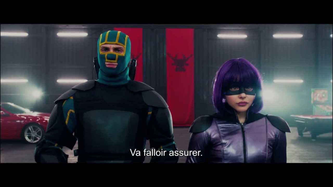KICK-ASS 2 - Bande annonce officielle VOST - Le 21 Août au cinéma