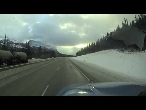 Alberta Kanada - Rocky Mountains - Führerstandsmitfahrt - Truck Taxi #4