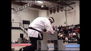 Brick Breaking Demonstration- Nishi Kaze Seido (shito-ryu Karate)