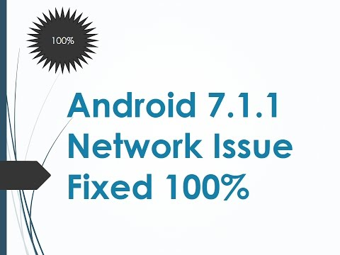 How To Solve Network Problem of any Android Naught 7 1 1 (ROM ) Lineage OS